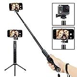 Foneso Bluetooth Selfie Stick mit Stativ für Smartphone,...