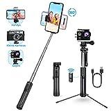 Mpow Bluetooth Selfie Stick Stativ, All in 1 Erweiterbar...