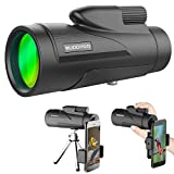 [Upgrade Version] 10X50 Monokular Teleskop, BUDDYGO HD...