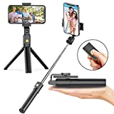 Soft Digits Bluetooth Selfie Stick Stativ, 3 in 1...