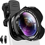 Handy Kamera Objektiv Set Phone Camera Kit mit Makro und 5K...