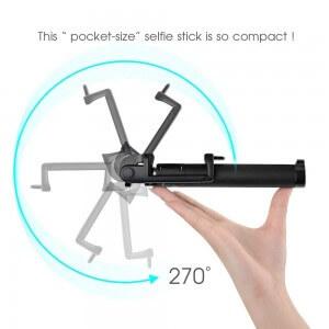 Mpow® iSnap X Selie Stick Test